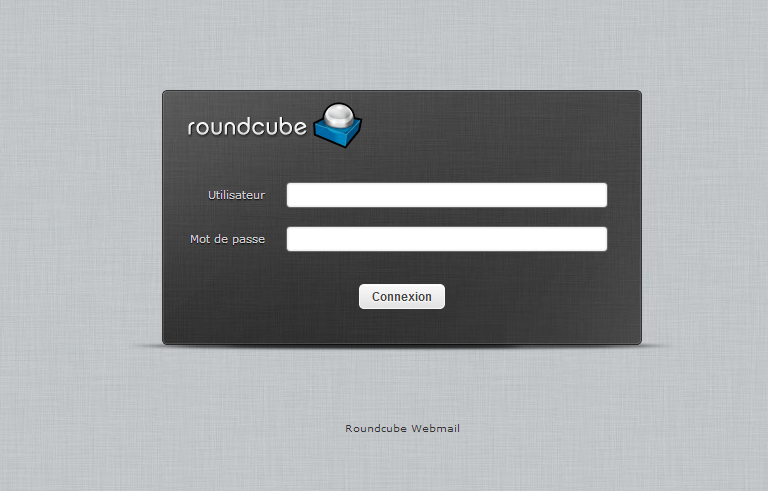 Interface Roundcube