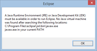 Erreur Eclipse Java